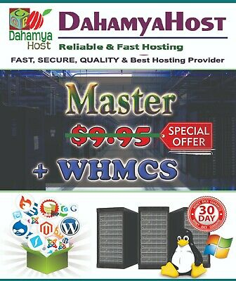 WHM Reseller Unlimited Web Hosting + WHMCS + Premium Hosting Template Free