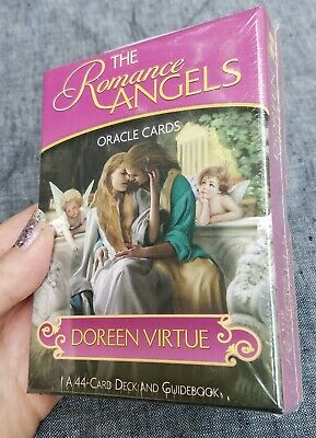 SEALED Doreen Virtue Romance Angels Oracle Cards with guidebook