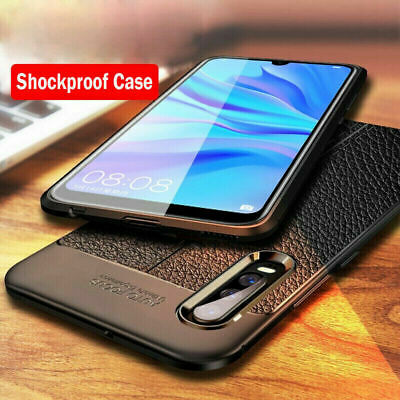Soft Rubber Back Shockproof Case For Samsung Galaxy A70 A50 A40 30 Cover Leather