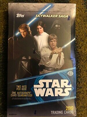 2019 Topps Star Wars Skywalker Saga Hobby Sealed Box