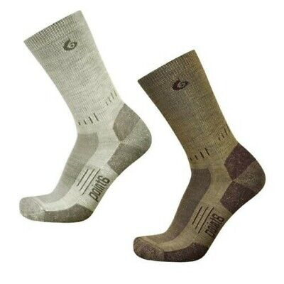 Point 6 Tactical Liberty Light Weight Merino Wool Crew Socks, Hiking Boot Socks