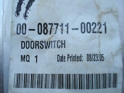 Hobart door switch 00-087711-00221   NOS