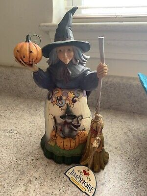 Bewitched Harvest Star Cat - Halloween - JIM SHORE Heartwood Creek 4016050