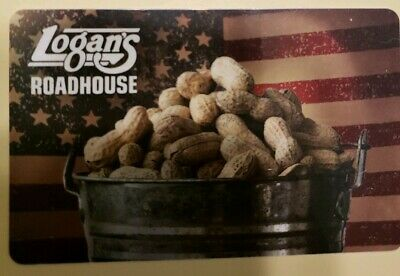 $25 Logan's Roadhouse Gift Card No physical experation Date!
