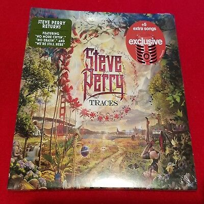 STEVE PERRY - TRACES - Deluxe Edition w/ 5 Bonus Tracks - Factory sealed CD