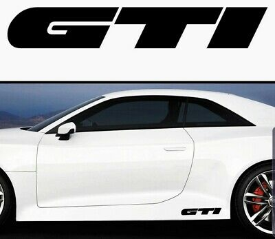 GTI window/Bumper/Van Vinyl Decal Sticker 200mm BUY ANY 2 GET 1 FREE MIX & MATCH