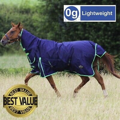 SALE! Gallop Trojan Lightweight Combo Neck Outdoor Horse Turnout Rug ALL SIZES