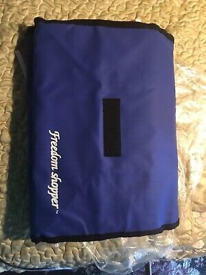 Freedom Shopper Folding Rolling Shopping Travel Carry On Bag  NEW Wheels Compact