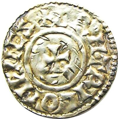 Anglo Saxon King Æthelred II Silver Penny by BRIHTRIC of Winchester 978-1013 AD