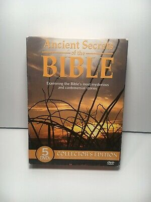 Ancient Secrets of the Bible Collector's Edition 5 DVD's