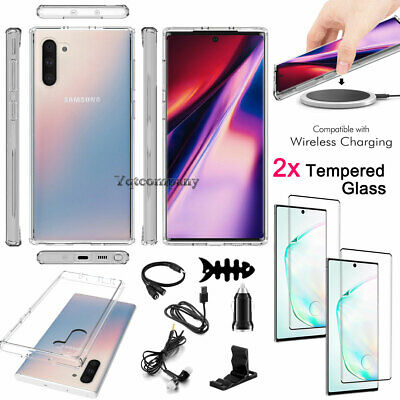 Samsung Galaxy Note 10/Note 10 Plus Hybrid Crystal Clear Armor Phone Case Cover