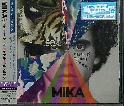 Mika-My Name Is Michael Holbrook-Japan Cd F56