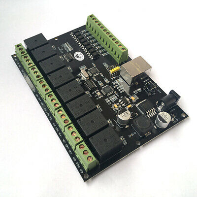 250V Relay Network 8-Channel IP/Web Relay 2-Control Ethernet RJ45 interface uk
