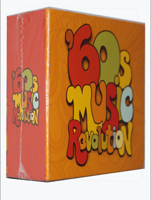 60s Music Revolution Various Artists Time Life 9 CD Box Set New Sealed