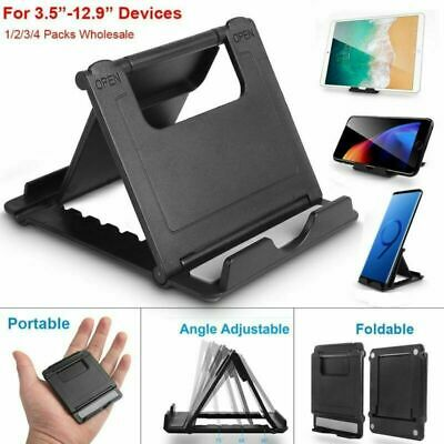 Universal Adjustable Mobile Phone Holder Stand Desk Tablet Foldable Portable UK