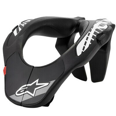 Alpinestars Kids Black White Motocross Neck Support