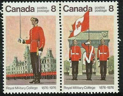 Canada sc#693ax Royal Military College Centenary, Spot on Sleeve (#693), Mint-NH