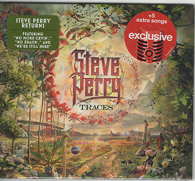 Steve Perry - Traces Cd New & Sealed 2018 Target Edition With 5 Bonus Tracks