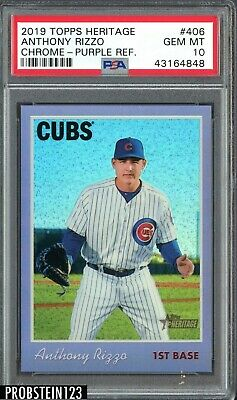 2019 Topps Chrome #84TC-9 1984 Refractor Anthony Rizzo