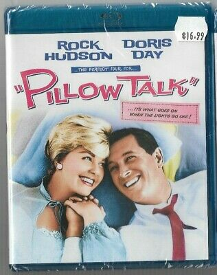 Sealed New Blu-Ray Disc - PILLOW TALK - Rock Hudson - Doris day