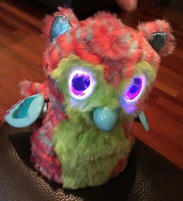 Hatchimals TIGRETTE Fabula Forest Girl Pink Green Blue Tiger Owl Bird TESTED EUC