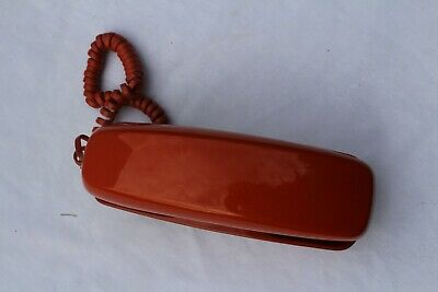 Vintage Western Electric Bell System Trimline Orange Push Button Telephone
