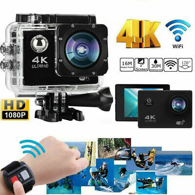 Ultra 4K Full HD 1080P Waterproof Sports Camera Wi-Fi Action Camcorder 2 Inch P3