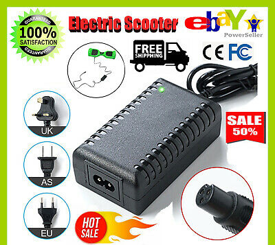 Power Adapter Battery Charger 42V For Smart Balance Hoverboard Electric Scooter~