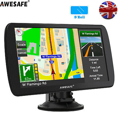 "Awesafe 9"" GPS Navi Navigation for Truck Car SAT NAV 8GB Europe Maps Bluetooth"