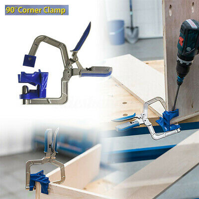 90 Degree Right Angle Kreg 90° Corner Clamp Face Frame Woodworking Clamping Kit