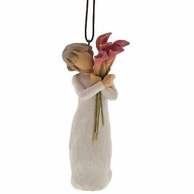 Willow Tree 27909 Bloom Flower Hanging Ornament