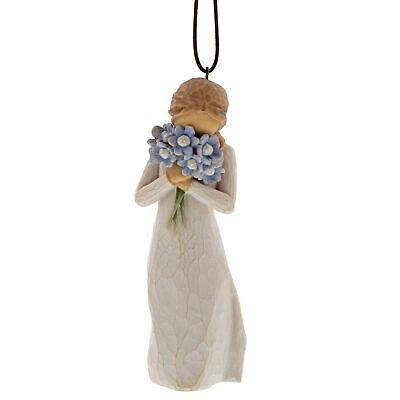 Willow Tree 27911 Forget me not Flower Hanging Ornament