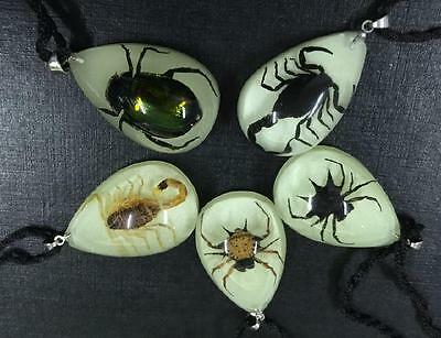 20 pcs style scorpion spider green beetle insect chic pendant