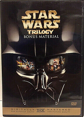 New Star Wars Trilogy Bonus Material Dvd - Documentary & Featurettes - Trailers