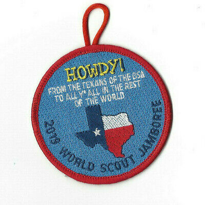 24th World Scout Jamboree Texas Howdy Patch USA [WSJ356/2]