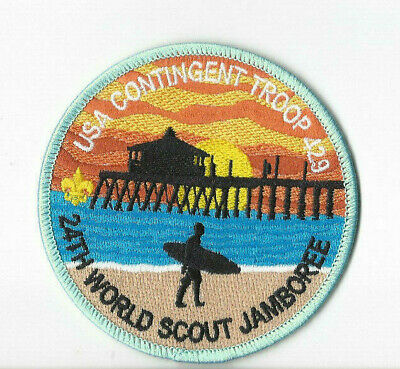 24th World Scout Jamboree USA Troop429 Contingent Patch [WSJ328]