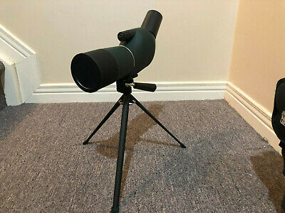 Spotting scope 15-45x50mm with tripod and carry bag.