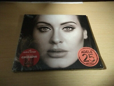 Adele 25 NEW Sealed CD US Import Exclusive Edition 3 Extra Songs Target Gatefold