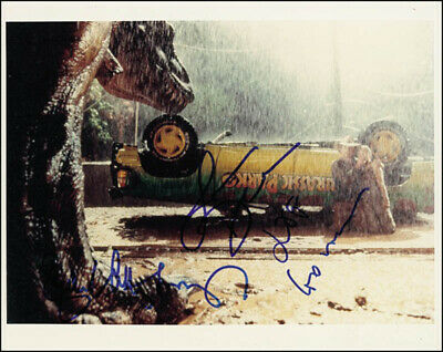 Jurassic Park Movie Cast - Autographed Signed Photograph With Co-Signers