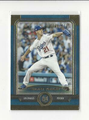 2019 Topps Museum Collection Sapphire #51 Walker Buehler Dodgers /150