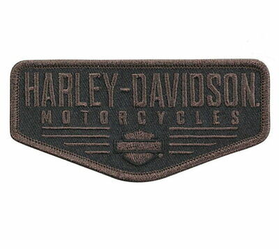 Harley-Davidson® Renowned Bar & Shield Vest Jacket Patch Embroidered