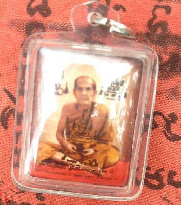 """Locket Tablet Picture Famous monk LP MUN""""105Year BE 2542"""