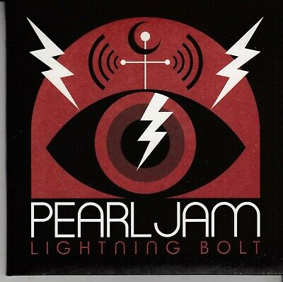 PEARL JAM Lightning Bolt CD DELUXE EDITION NEW freepost worldwide