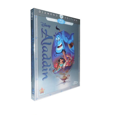 Aladdin (Blu-ray/DVD, 2015, 2-Disc Set, Diamond Edition)