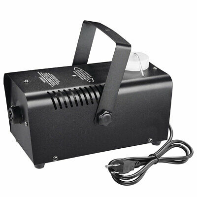400W LED Smoke Effect Machine Stage Fogger Equipment Wired Control Disco Party
