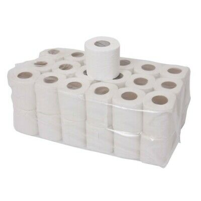 72x 2ply Toilet Tissue Quilted Paper Roll Jumbo Pack of Joblot UK