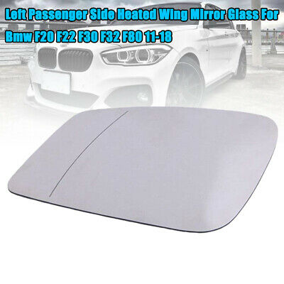 For BMW SERIES 5 E60 2003-10 Blue Heated Wing Mirror Glass Convex Left //B006
