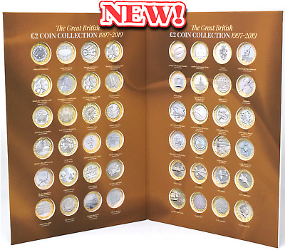 NEW 2019 £2 Coin Hunt Collectors Album RAF Captain Cook Frankenstein
