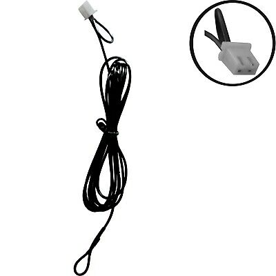 FM Radio Aerial Antenna Wire Cable Lead 2 Pin Plug Indoor for Stereo HiFi System