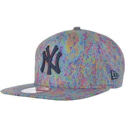 New Era Mens New York Yankees MLB Slicked Prime 9FIFTY Baseball Cap Hat